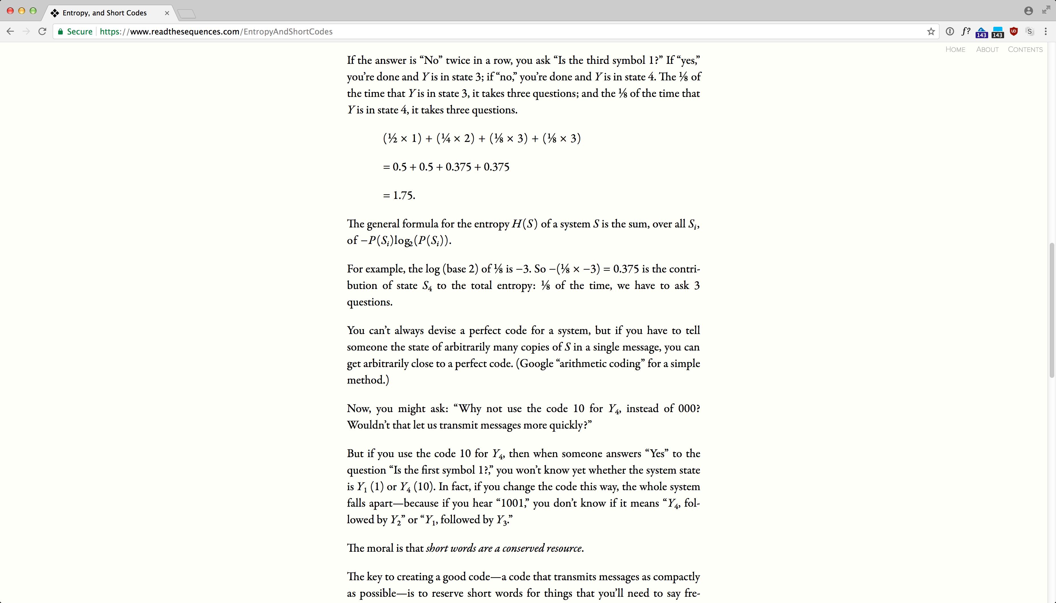 ReadTheSequences.com screenshot 11