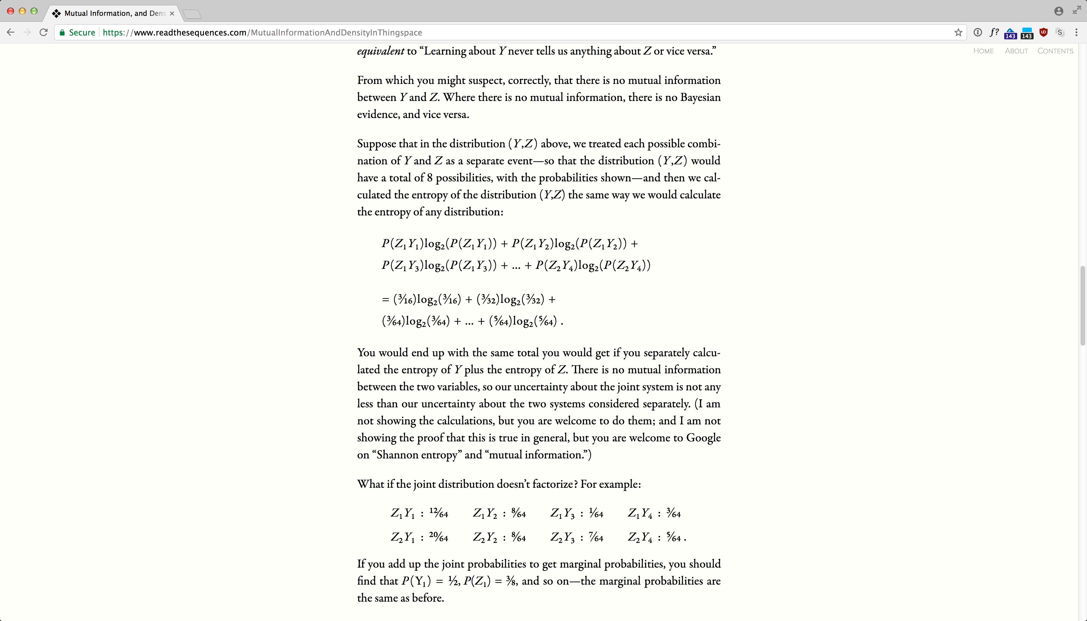 ReadTheSequences.com screenshot 12