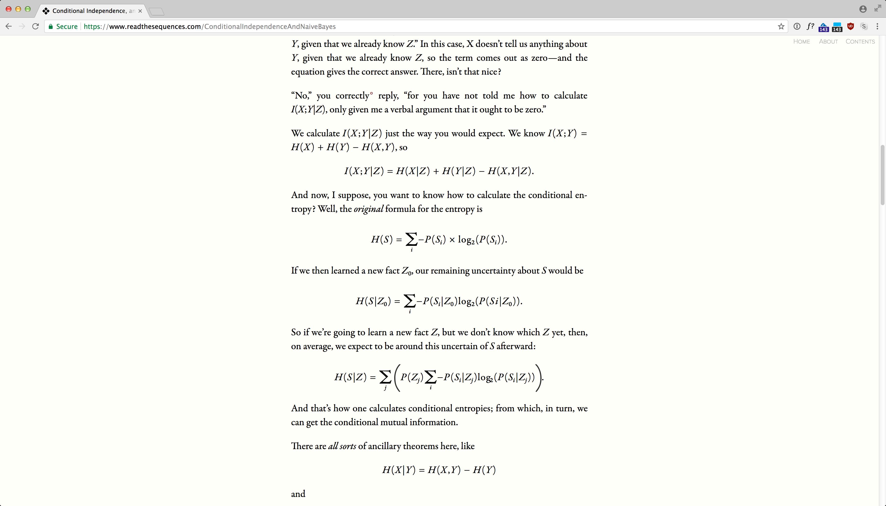 ReadTheSequences.com screenshot 13