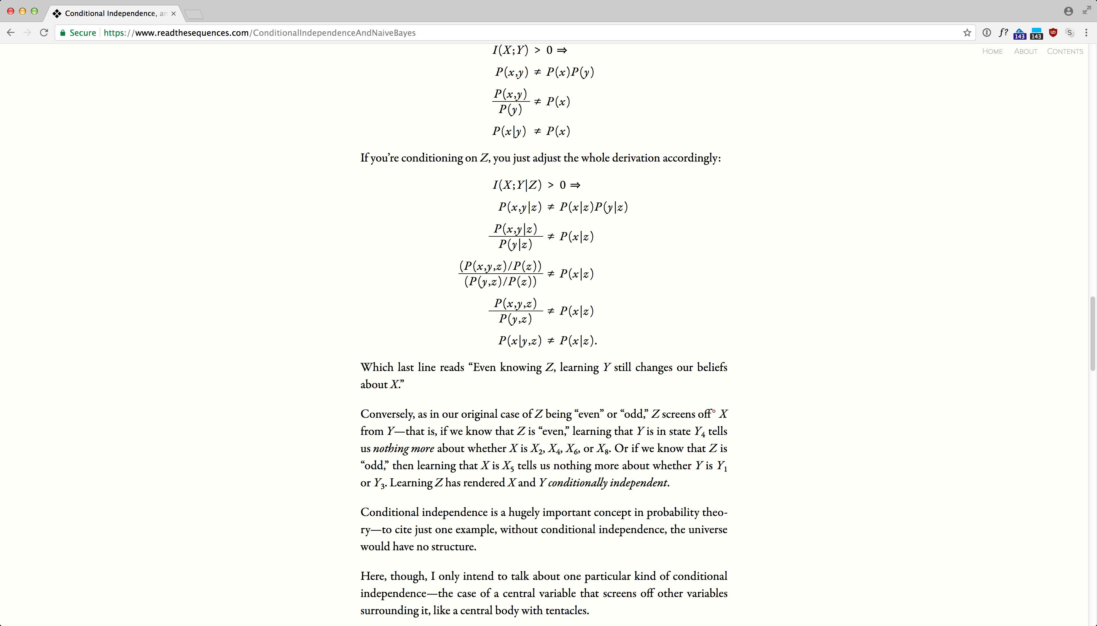 ReadTheSequences.com screenshot 14