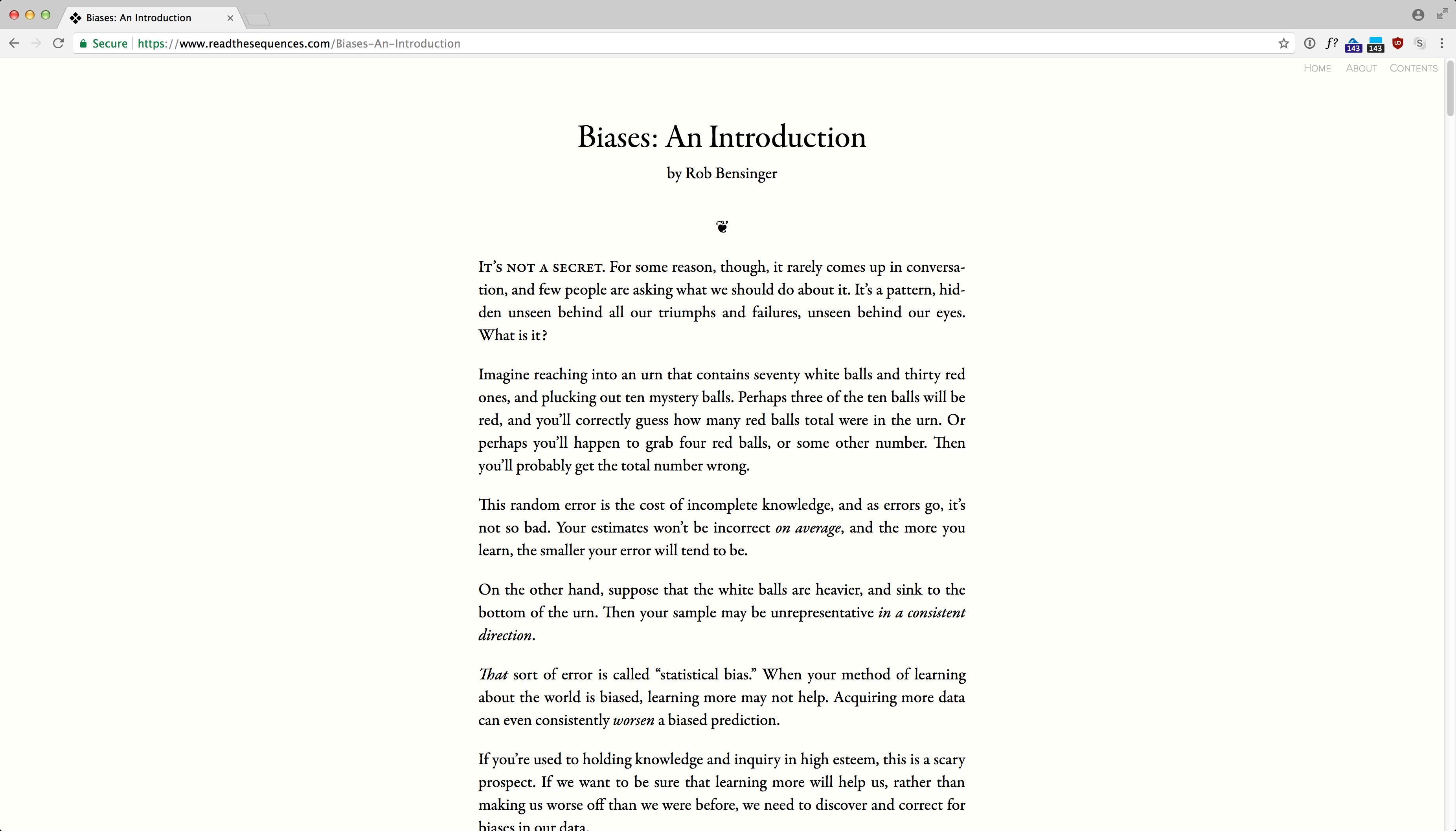 ReadTheSequences.com screenshot 3