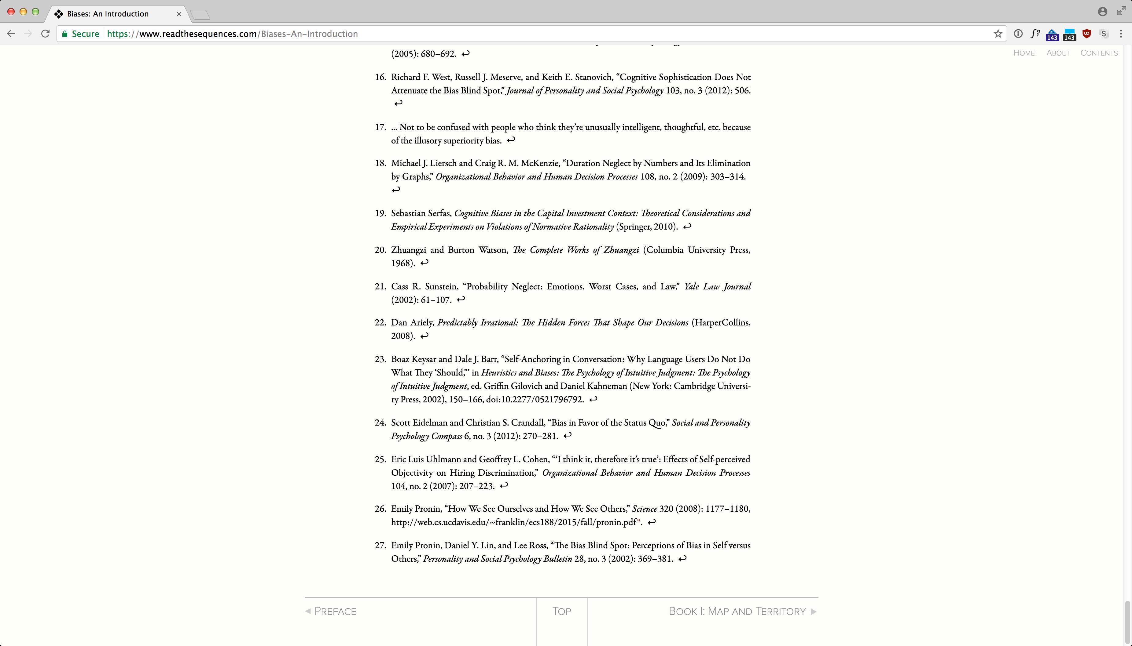 ReadTheSequences.com screenshot 4