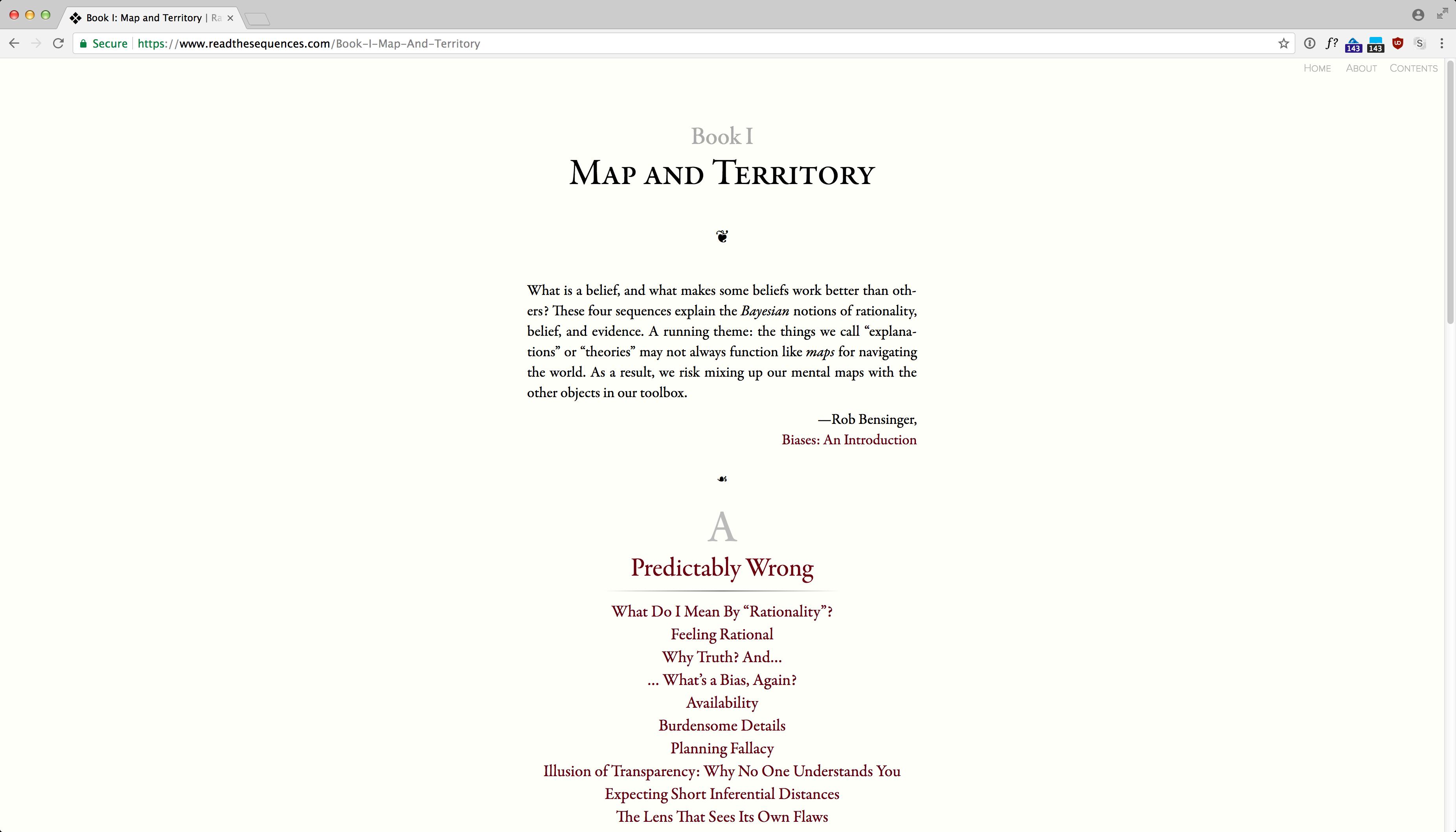 ReadTheSequences.com screenshot 6
